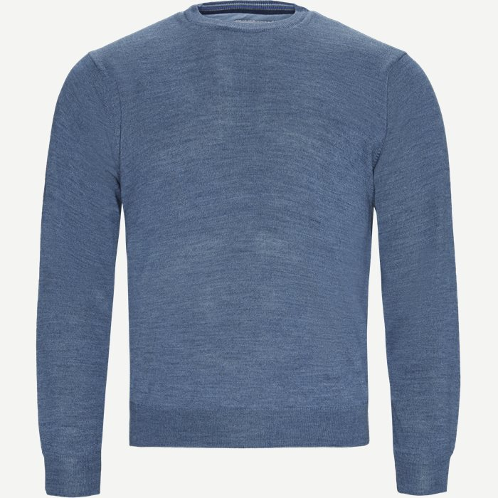 Cervo Striktrøje - Strik - Regular - Denim